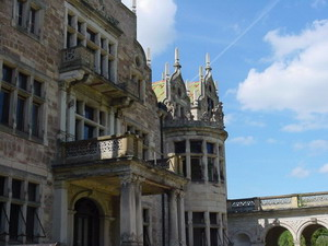 Schloss Altenstein Detail Fassade
