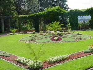 Schloss Altenstein Teil des Gartens