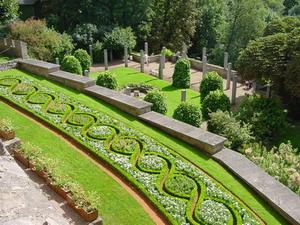 Schloss Altenstein anderer Teil des Gartens