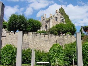 unterhalb von Schloss Altenstein